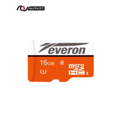 Everon 16GB Class 10 MicroSDHC UHS-I Memory Card + Adapter